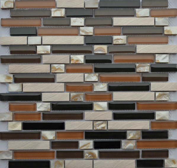 Stainless Steel Mosaic Tiles Ssmt047 Glass Mosaic Tile