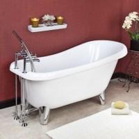 Modern Clawfoot tub remodel
