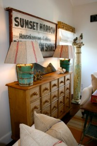 Decorating with Signs - Town & Country Living
