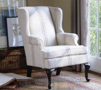 Gramercy Wingback Chair - Modern - Armchairs And Accent ...