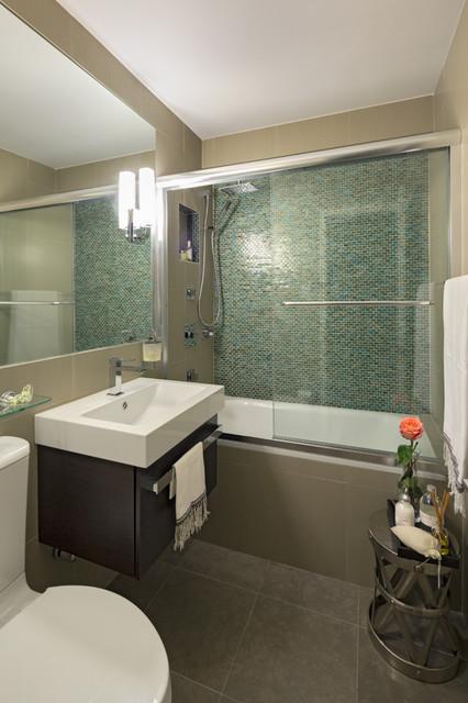 Apartment Renovation in Manhattan  Modern  Bathroom  new york  by Studio 360