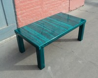 Contemporary Teal Coffee Table - Coffee Tables - denver ...