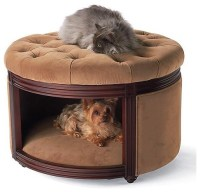 Pet Ottoman Den Dog Bed - Traditional - Pet Supplies - by ...