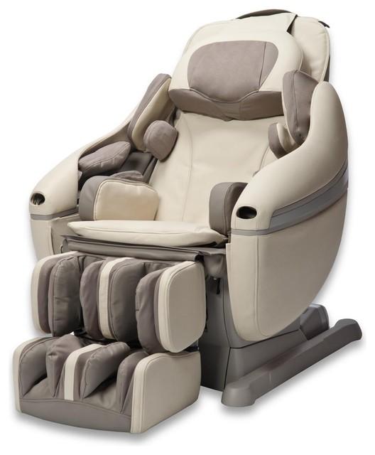 Inada Sogno DreamWave Massage Chair Creme  Contemporary