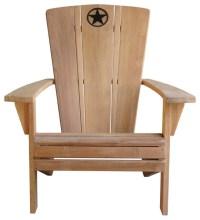 Lone Star Adirondack Chairs, Set of 2 - Contemporary ...
