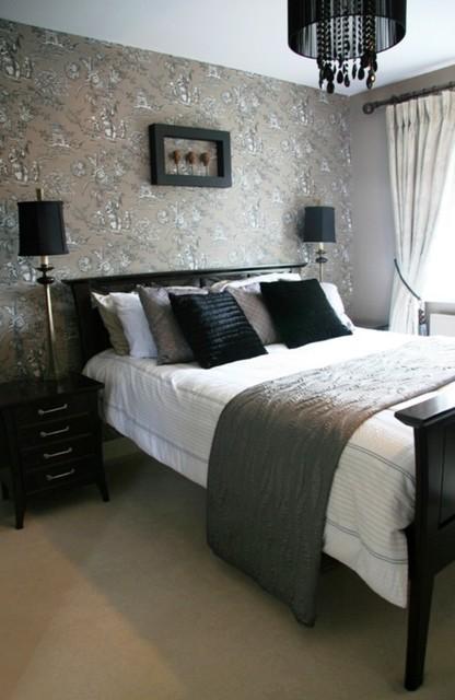 Eastern Inspired Bedroom Asian Wallpaper Dublin By