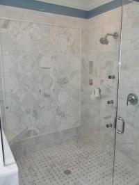 Carrara Marble Master Bathroom - Traditional - Bathroom ...