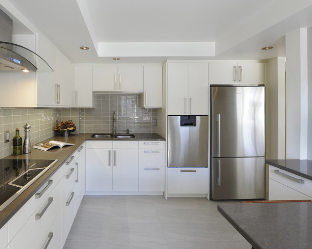 rational potter  Contemporary  Kitchen  ottawa  by Luxurious Living Studio Inc