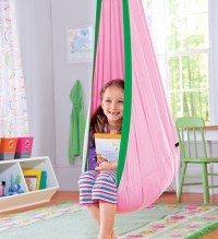 Hugglepod, Children's Canvas Hanging Egg Chair ...