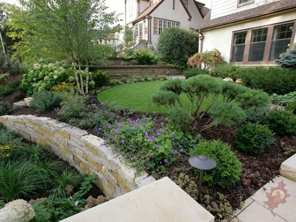 limestone and dolomite retaining