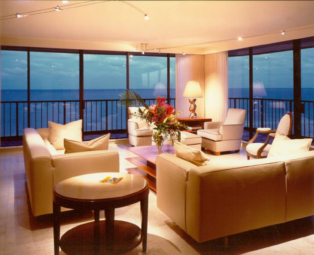 Florida modern condo  Modern  Living Room  other metro
