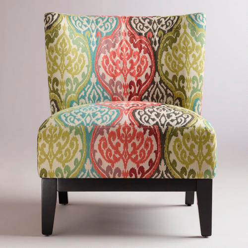 Check out the best in living room furniture with articles like how to tighten the arm on a reclining sofa, how to repair leaning recliners, & more! Rio Multicolored Ikat Darby Chair - Contemporary - Accent ...