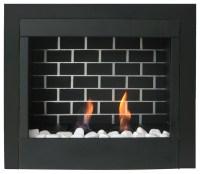 "23"" Retrofit Gel Fuel Fireplace Insert - Modern - Indoor ..."
