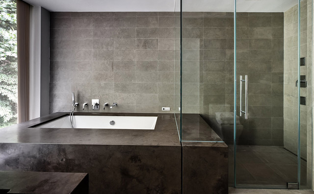 Restored 1969 Modern Glass House Modern Bathroom New York By Fivecat Studio Architecture