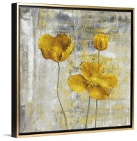 Yellow Flowers II Wall Art from Great BIG Canvas by Carol ...
