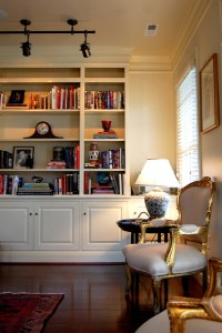 23 Creative Living Room Bookcases | yvotube.com