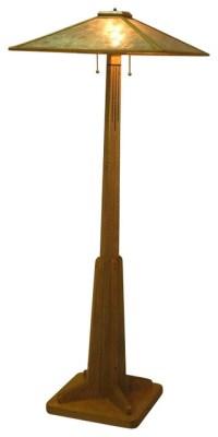 ADK Adirondack Craftsman Lighting prairie style floor lamp ...