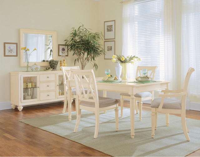 Camden Dining Room In Buttermilk Finish