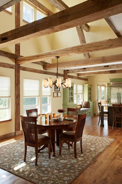 The Barn Great Room Dining room clerestory windows