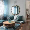 Moroccan inspired condo 2013 contemporary living room montreal