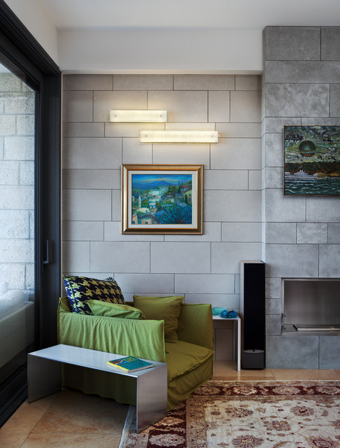Tanzania Wall Sconce  Contemporary  Living Room  new