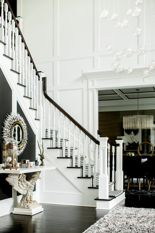 Black And White Foyers