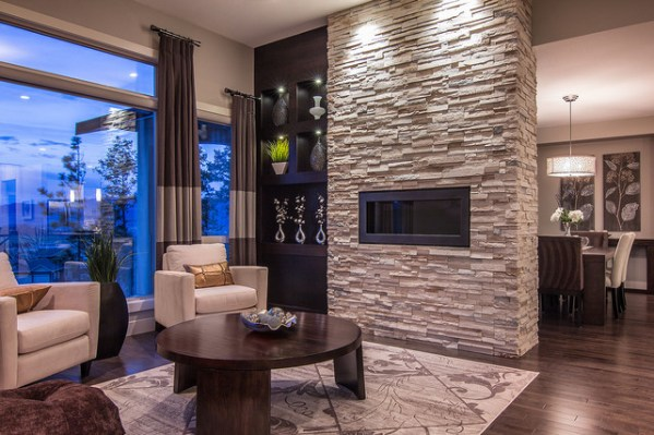 houzz small living room ideas Summit at Selkirk - Contemporary - Living Room - other metro - by Dilworth Homes