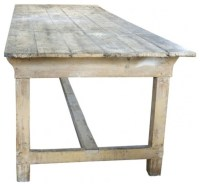 French Farm Table - Farmhouse - Dining Tables - by EcoFirstArt