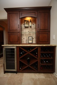 Wine Cabinet - Traditional - Kitchen - cleveland - by ...