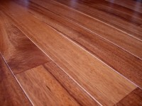Brazilian Mahogany Flooring installation - Contemporary ...