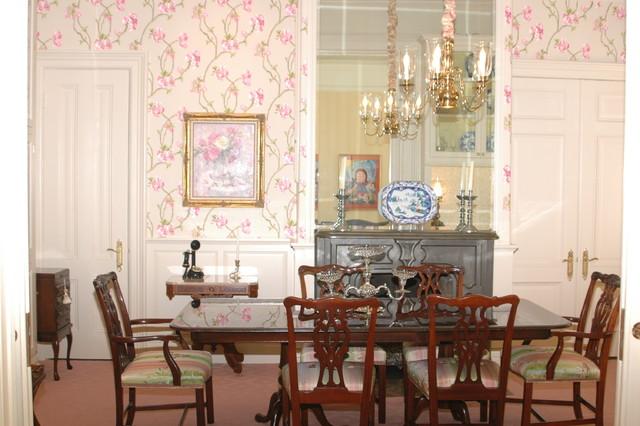 San Francisco Victorian  Traditional  Dining Room  san