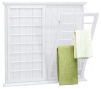 Madison Wall-Mounted Laundry Drying Rack - Traditional ...