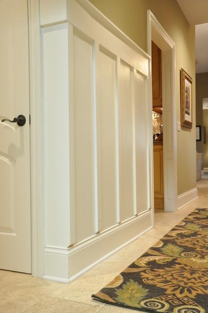 Board and Batten Hallway  Traditional  Hall  cincinnati