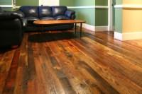 Reclaimed Tobacco Pine Hardwood Flooring - Modern - Living ...