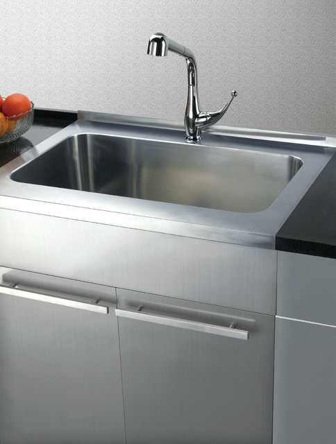 Stainless Steel Sink base Cabinets  Kitchen  san francisco  by DAWN KITCHEN  BATH PRODUCTS INC