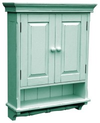 New Cabinet Blue French Country Painted - Farmhouse ...