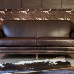 Vintage Leather Sectional Sofa Sure Fit Furniture Cover With 1 Memory Foam Seat Chelsea