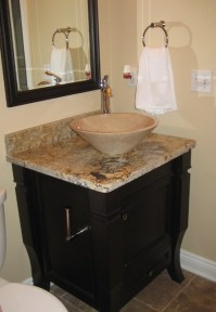 Powder Room Vanity - Modern - Bathroom - cleveland - by ...