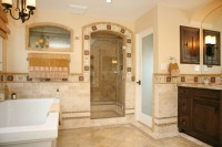 Spanish Revival Master Bath - Mediterranean - Bathroom ...