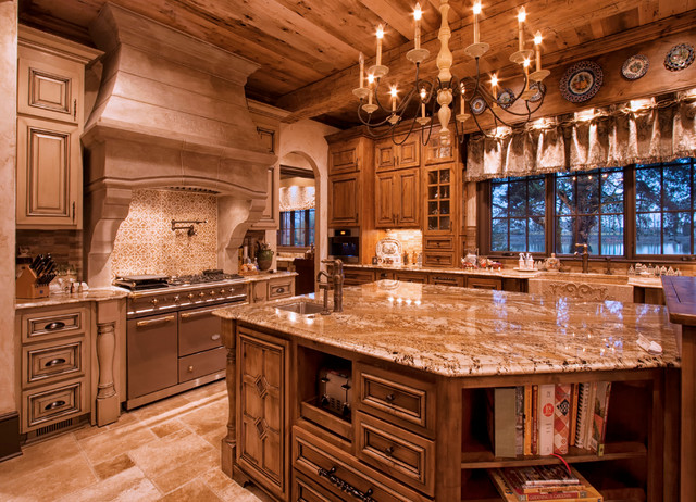 Old World Kitchen Traditional Kitchen Charlotte By Walker Woodworking
