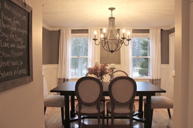 Rustic Luxe Dining Room