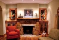 Craftsman Fireplace - Traditional - Living Room - salt ...