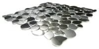 Eden Mosaic Tile River Rock Pattern Mosaic Stainless Steel ...