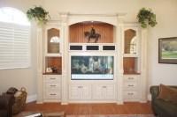 Custom wall units Naples FL. - Traditional - Living Room ...