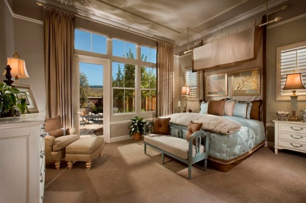 french master bedroom interior design French Style Master Bedroom - Traditional - Bedroom - san francisco - by Michael Trahan Interior