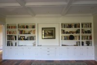 formal living room bookcases - Traditional - Living Room ...