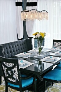Hollywood Regency Inspired Living and Dining Room ...