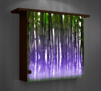 Lighted wall decor- color changing lights - Modern - Home ...