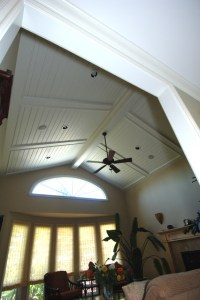 Vaulted Panel ceiling