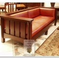 Mission style sofas craftsman sofas chicago by green craftsman